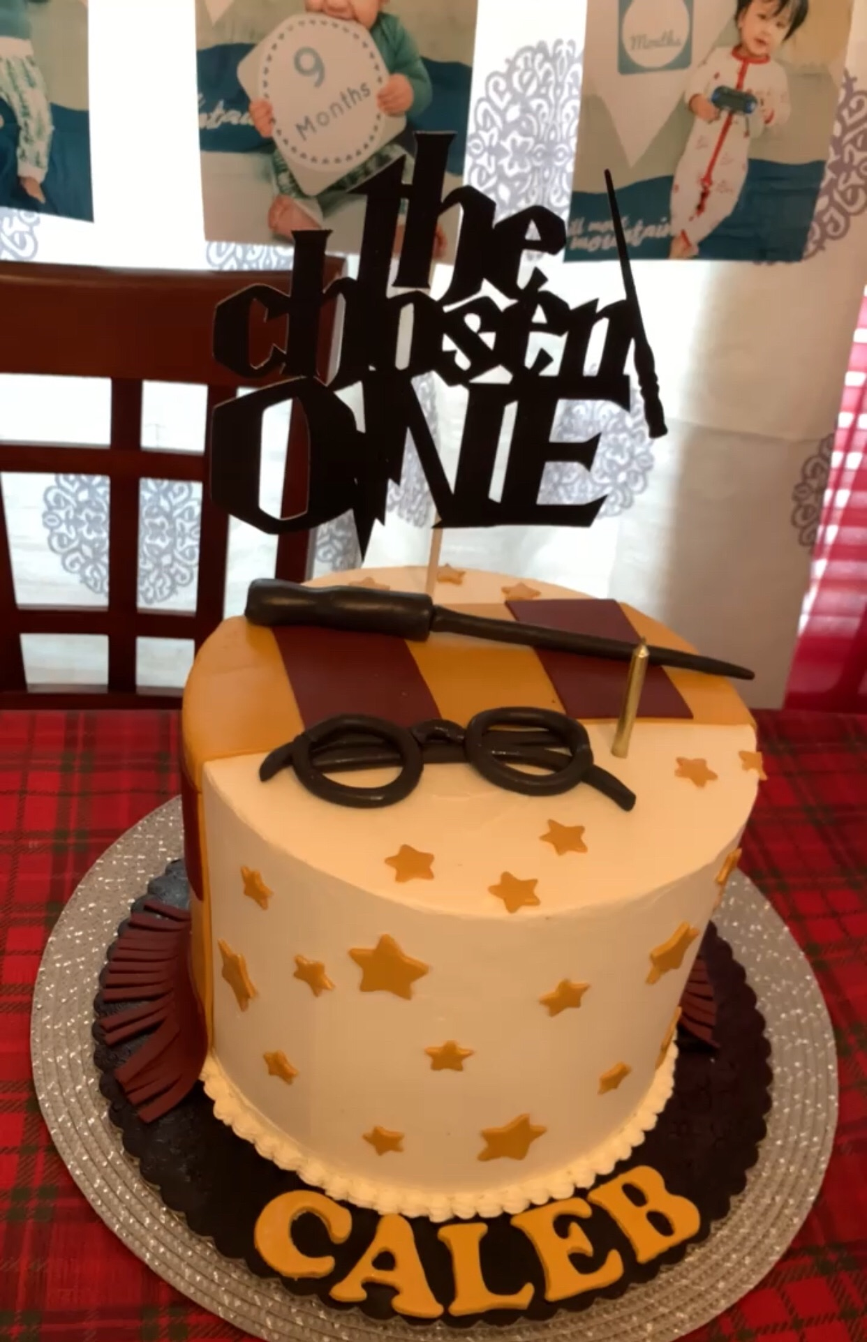 The Chosen One - Harry Potter themed birthday cake.