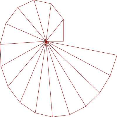 Spiral Plot with Vectors