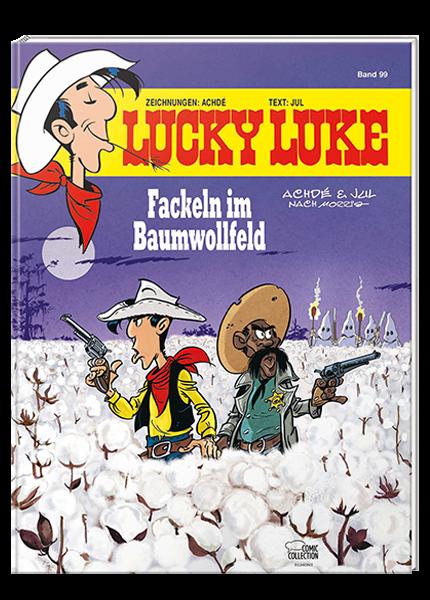 lucky luke fackeln baumwollfeld
